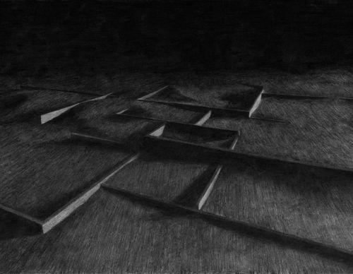 Charcoal drawing   2016   73 x 51 cm