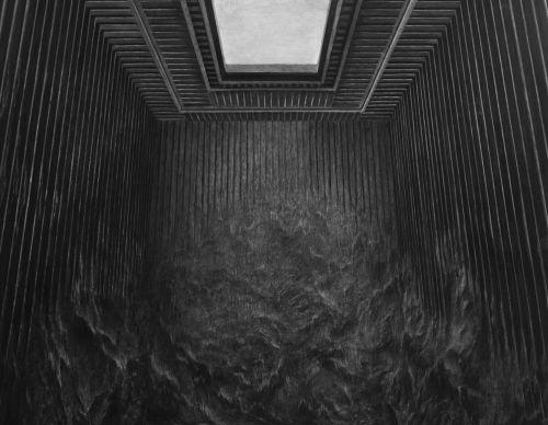 Charcoal drawing, 180 x 122cm, 2017