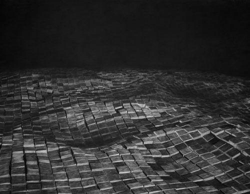 Charcoal drawing   2016   150 x 88 cm