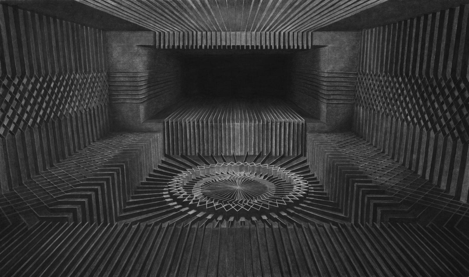 Charcoal drawing   2017   73 x 51 cm